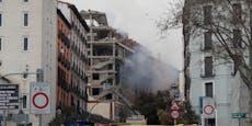Drei Menschen bei Gas-Explosion in Madrid getötet