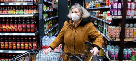FFP2-Masken werden ab 25. Jänner 2021 beim Einkaufen in Österreich zur Pflicht. Symbolbild