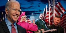 Sie kommen zurück! US-Stars singen für Präsidenten