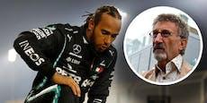 Ex-Teamchef würde Weltmeister Lewis Hamilton rauswerfen