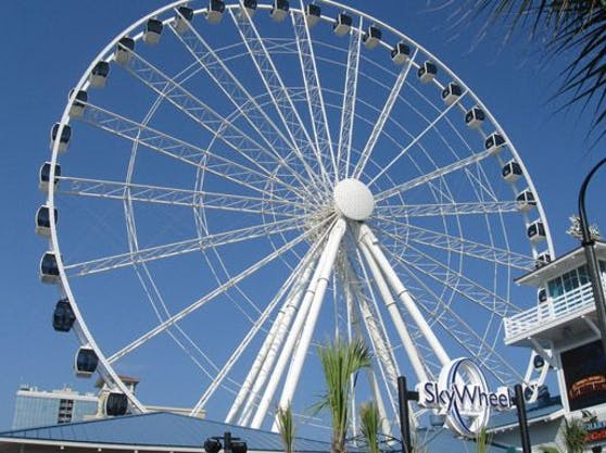 Das SkyWheel in Myrtle Beach in South Carolina