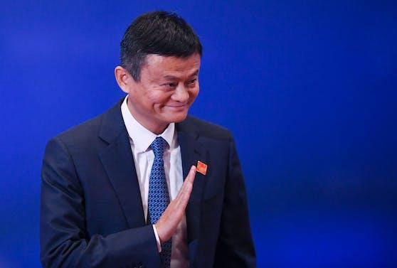Jack Ma ist wieder aufgetaucht - er zeigte sich während einer Online-Veranstaltung.