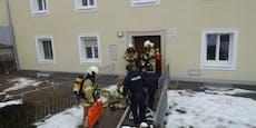 Seniorin (80) stirbt bei Wohnungsbrand in Linz