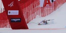 Clarey fliegt im Kitzbühel-Training spektakulär ab