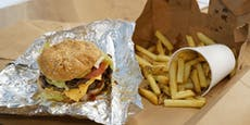 "Burger-Hype in Wien: Am Montag öffnet ""Five Guys"""