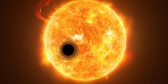 """Der ExoplanetWASP-107b ist """"ein absoluter Außenseiter"""", dessen Erforschung Erkenntnisse über die Entstehung von Planeten liefern könnte."""