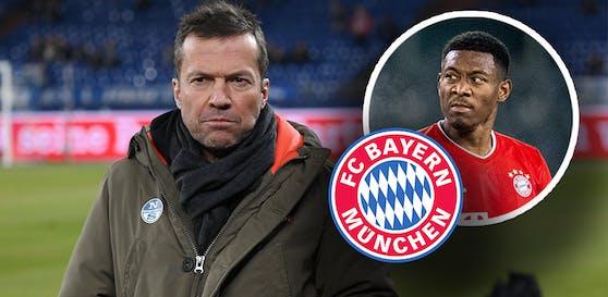 Lothar Matthäus wittert ein Abwehr-Loch bei den Bayern.