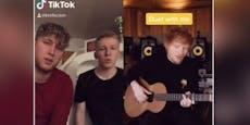 """Steirer singen auf """"TikTok"""" mit Weltstar Ed Sheeran"""