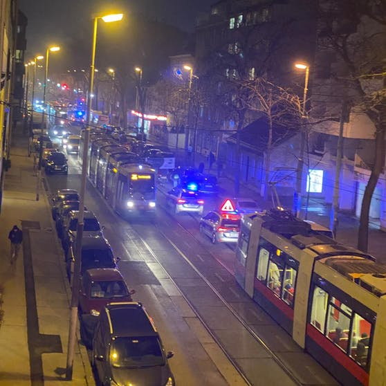 In Wien gingen die Menschen auf die Straßen.