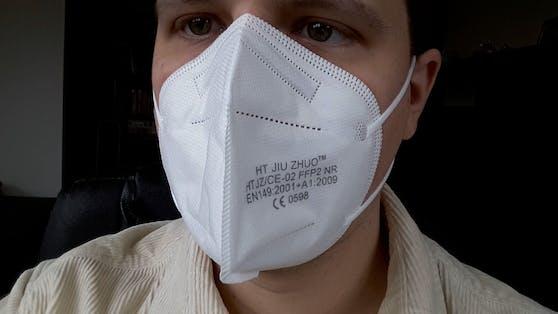 Aufgepasst bei FFP2-Masken! Nur, wenn sie richtig sitzen, schützen sie auch.