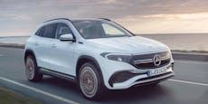 Weltpremiere für den elektrischen Mercedes EQA