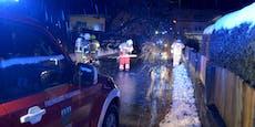 Warnstufe ROT! Heftiger Sturm wütet in Österreich