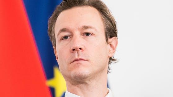 Finanzminister Gernot Blümel äußerte sich ebenfalls zu diesem Vorfall.
