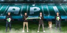 Rapid spielt künftig wie Milan, City und Dortmund