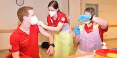 120 Sanitäter aus NÖ gegen Corona geimpft