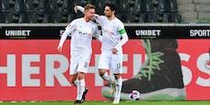 4:2! Gladbach gewinnt Borussen-Duell gegen Dortmund