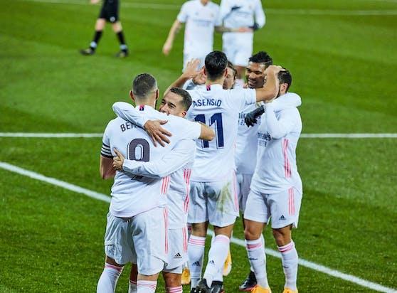Real Madrid siegt in Alaves.