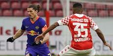 2:3! Leipzig-Bauchfleck in Mainz, Hütter-Serie hält an