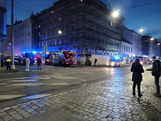 In Wien kam es zu einem Brand in einer Wohnung.