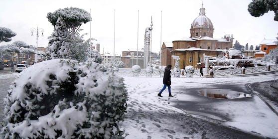 Ein 46-jähriger Wiener ist in Rom erfroren.