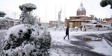 Tragödie in Italien: Wiener in Rom erfroren