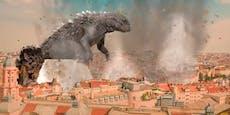 """""""Godzilla-Angriff auf Wien"""" verspottet Atombomben-Video"""