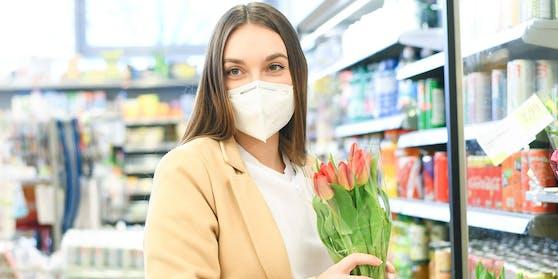 Ab Montafg gilt die FFP2-Maskenpflicht auch in Supermärkten.