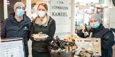 Wiener Kult-Café bietet nun Austern to go an