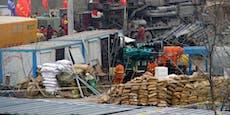 11 von 22 verschütteten Arbeiter aus Goldmine gerettet