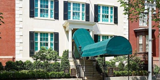 Das Blair House hat 14 Zimmer und jede Menge farbenprächtige Salons.