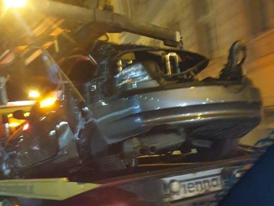 Am Freitagabend kam es zu einem Unfall.