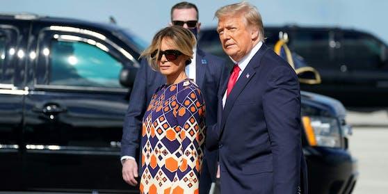 Donald und Melania Trump stehen offenbar kurz vor der Scheidung.