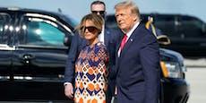 Bei Scheidung muss Trump 50 Millionen an Melania zahlen