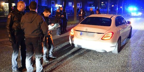 Die Polizei beendete die Hochzeit in Berlin.