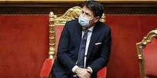 Italiens Ministerpräsident Conte will zurücktreten