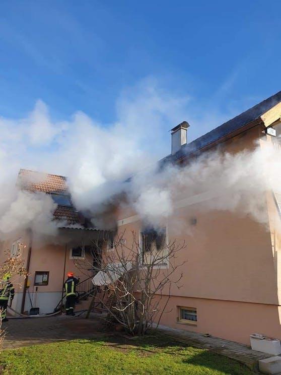 Wohnhausbrand im Bezirk Bruck