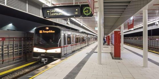 Die U1 in Wien