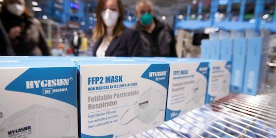 Die Nachfrage nach FFP2-Masken ist enorm.