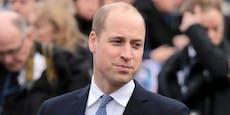 Polizeihund jagte Prinz William durch Schlosspark