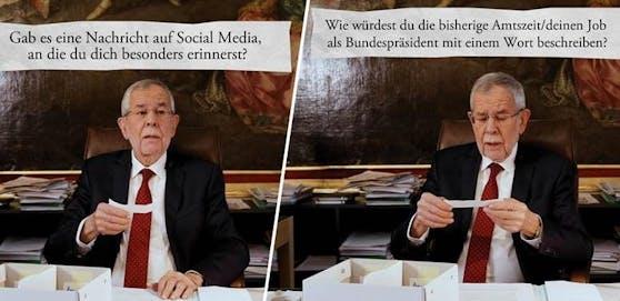 Alexander Van der Bellen ist seit vier Jahren im Amt.