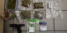 Drogen aus Internet verkauft - Polizei stellt Dealer