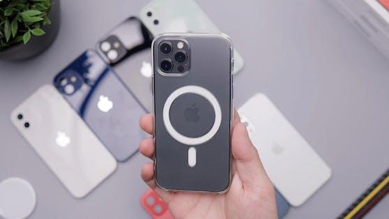 So sieht das MagSafe-System beim iPhone aus.