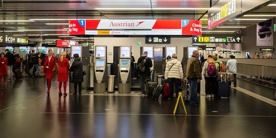 Der Flughafen Wien-Schwechat.