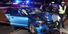 Übungsfahrt auf Parkplatz endet mit drei Verletzten