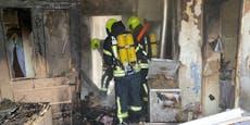 Wohnhausbrand forderte acht Wehren in Breitenwaida