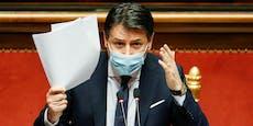Ministerpräsident Giuseppe Conte reicht Rücktritt ein