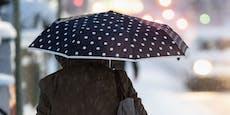 Wind, gefrierender Regen – so ungemütlich wird es jetzt