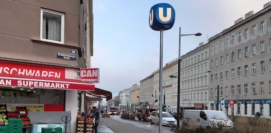 Bei der Station Troststraße gab es einen technischen Defekt