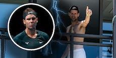 Quarantäne-Ärger: Nadal geht auf Djokovic los