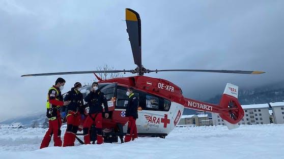 Der Notarztheli RK-1 der ARA Flugrettung in Kärnten